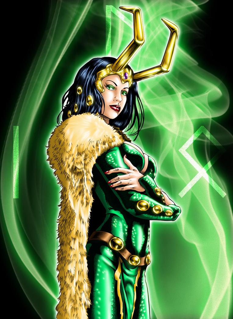 Lady Loki by grivitt
