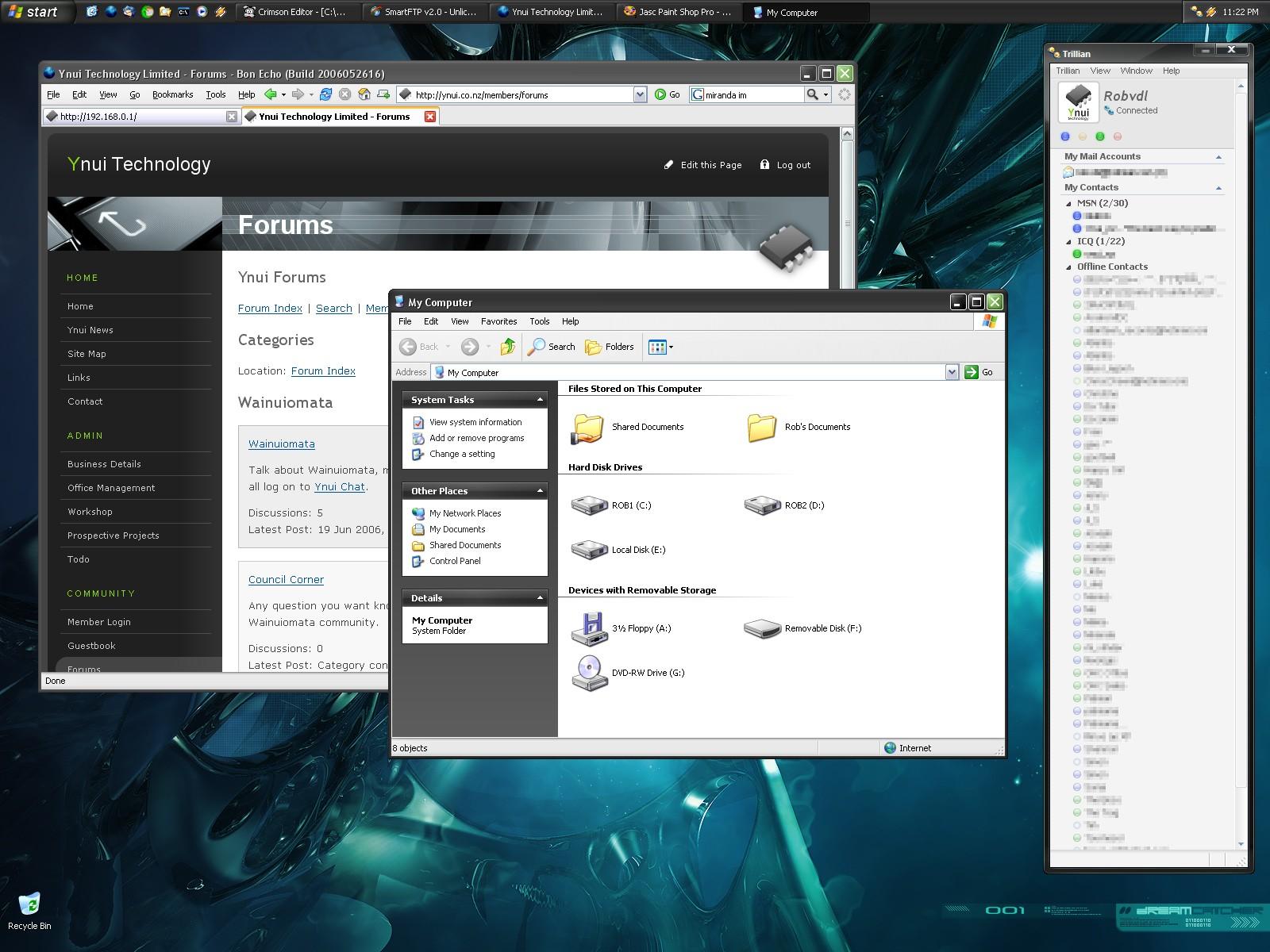 My current desktop 2