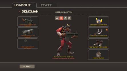 My full Honeydew Demoman Set
