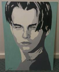 Leo on Canvas by DaLinzStar