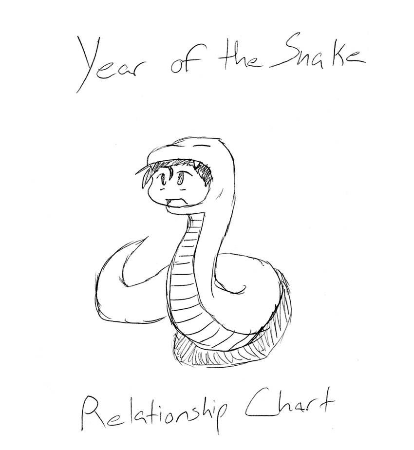 Year of the Snake Relationship Chart Cover by PHM-Productions