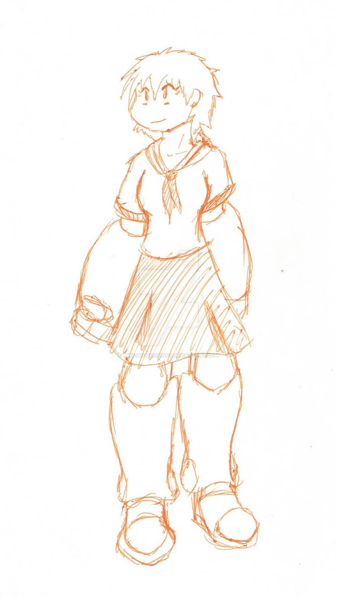 Knuckle Girl Sketch by PHM-Productions