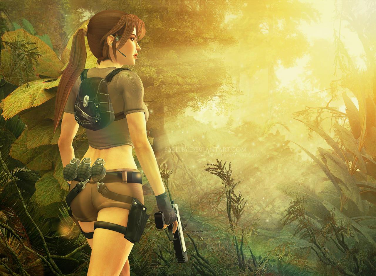 Tomb Raider Legend by SallibyG-Ray
