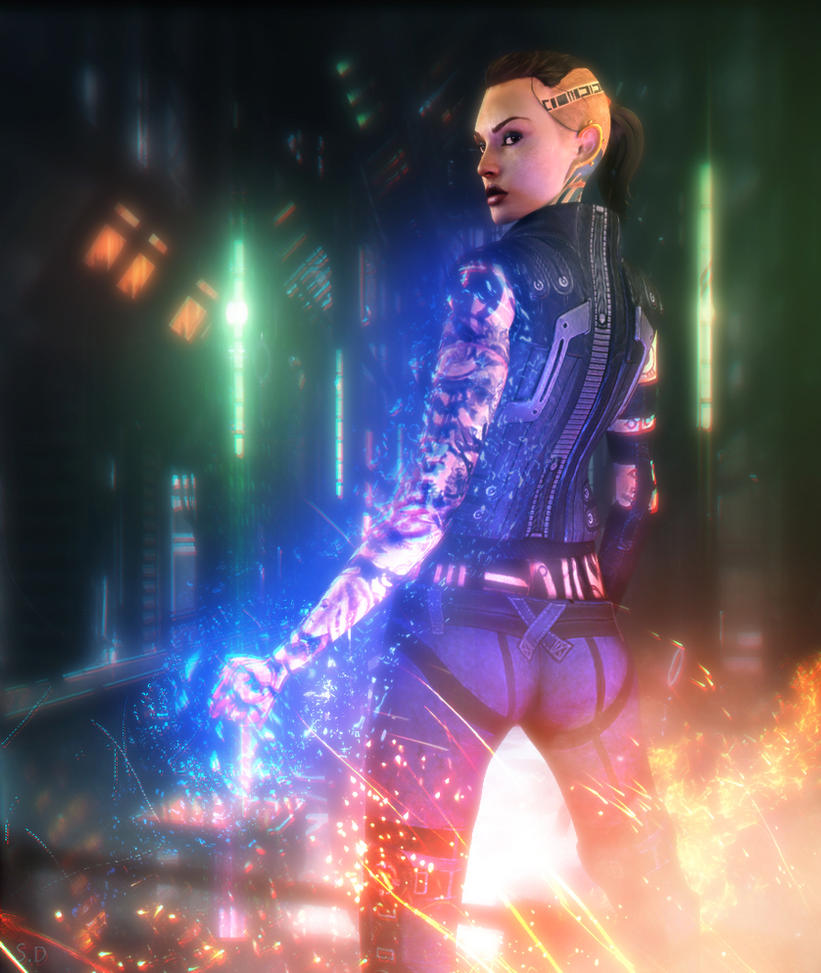 Jack (Mass Effect) by SallibyG-Ray