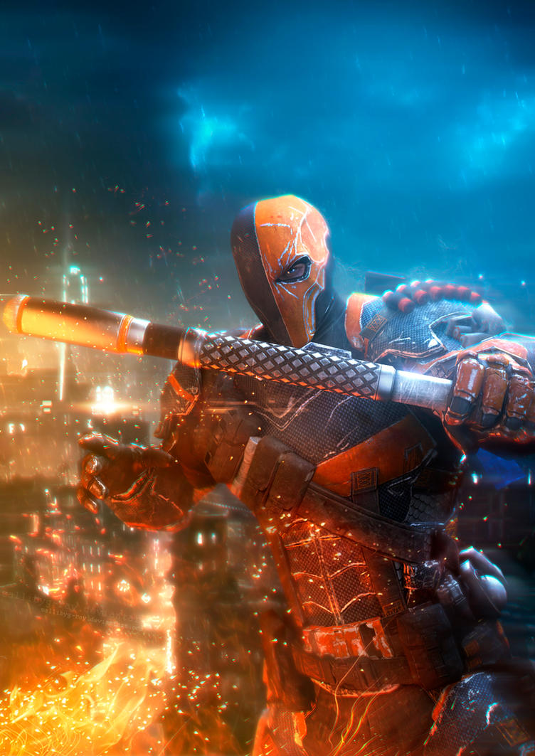 Deathstroke by SallibyG-Ray
