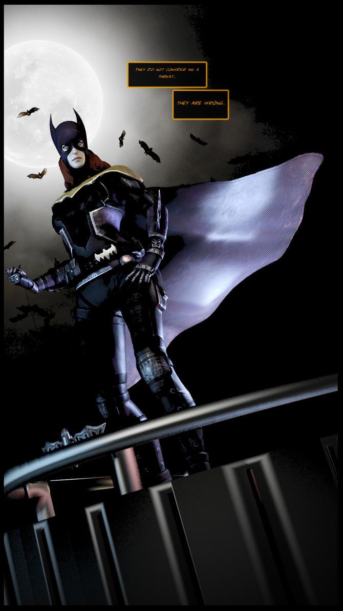 Batgirl by SallibyG-Ray