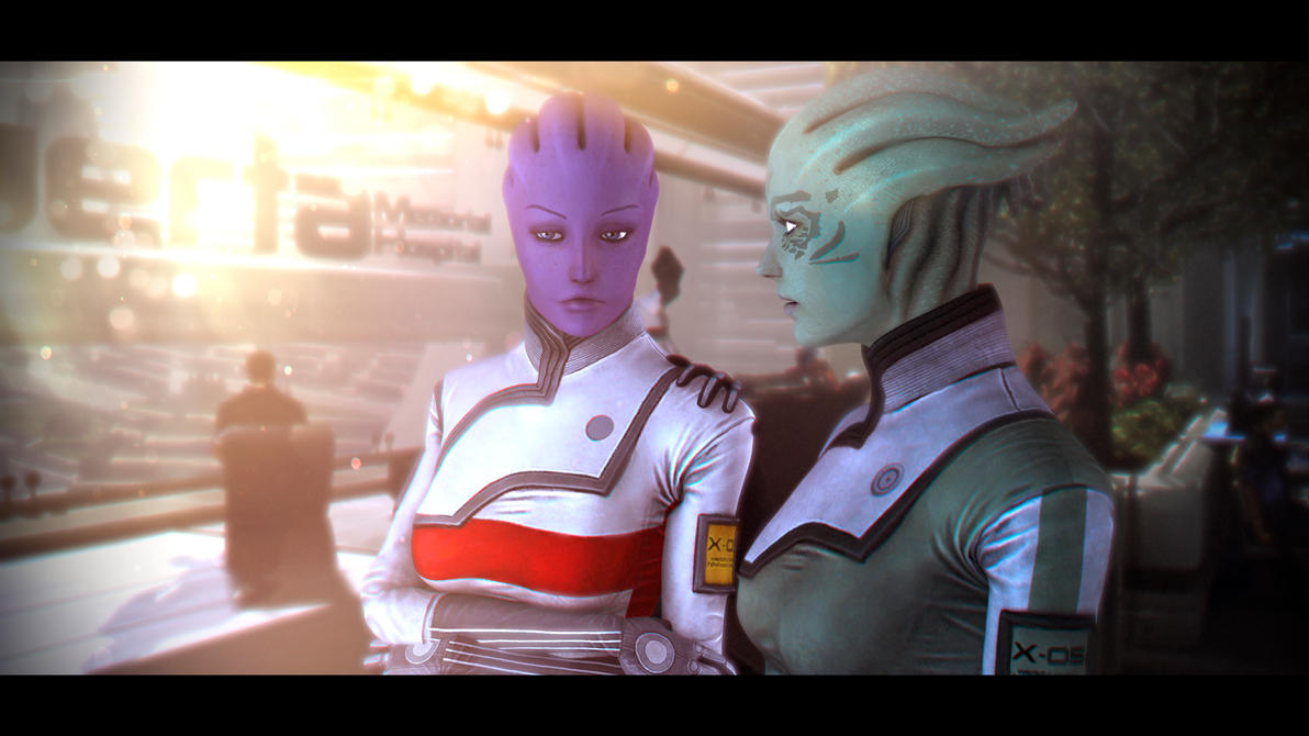Don't Worry... (Mass Effect) by SallibyG-Ray