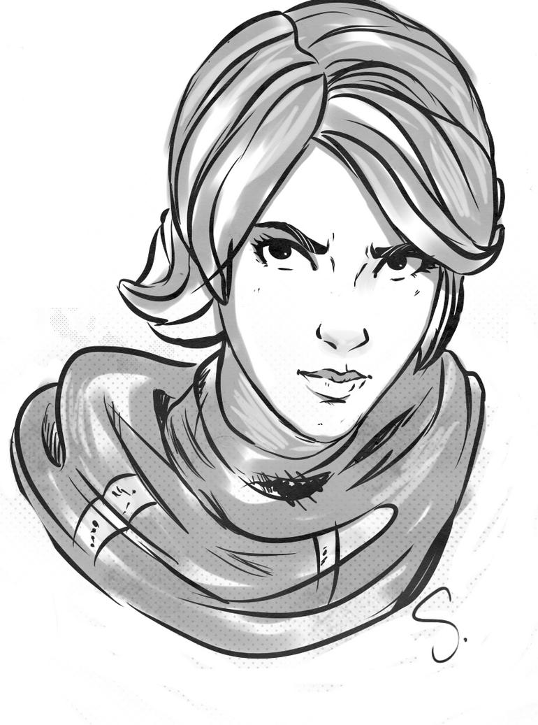 Athena by SallibyG-Ray