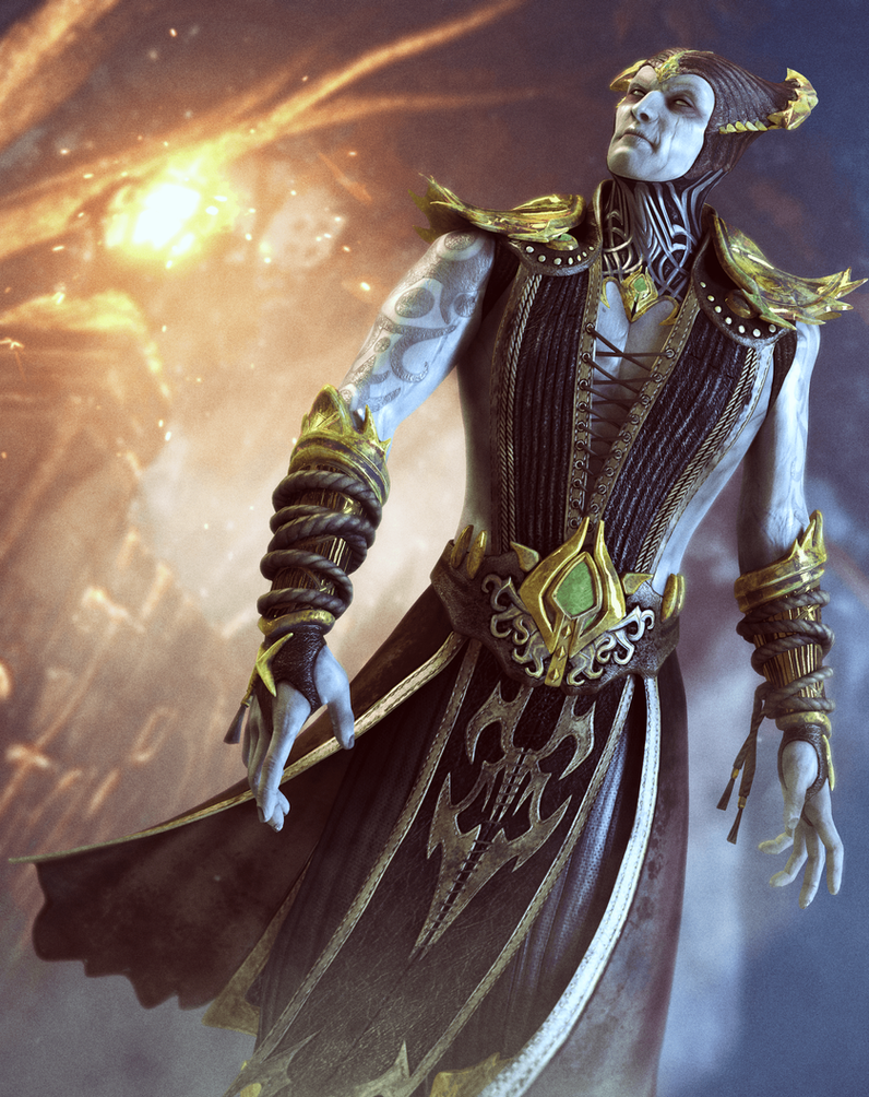 Lord Shinnok by SallibyG-Ray