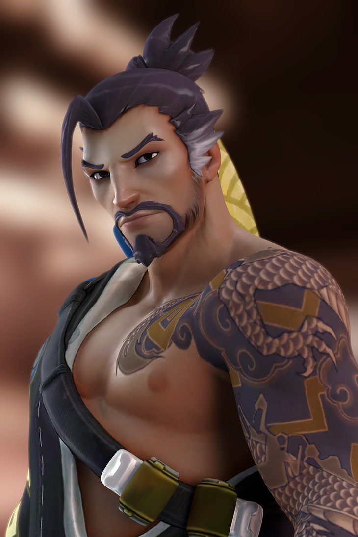 Hanzo by SallibyG-Ray
