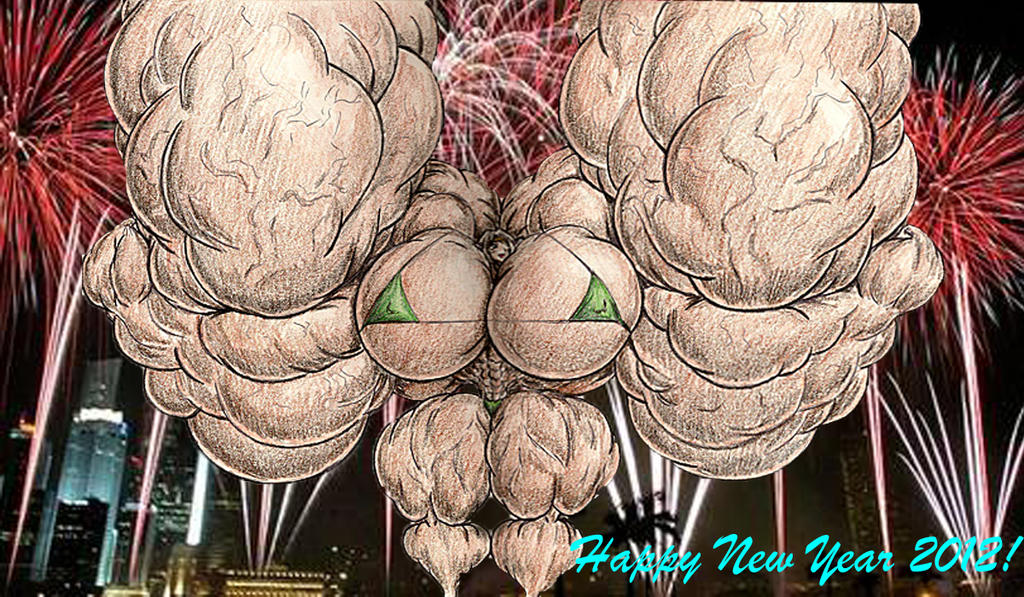 Happy New Year 2012 by GrandMasterLucilious