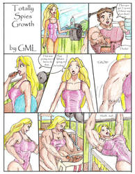 Totally Spies Growth Comic Pg 1 by GrandMasterLucilious