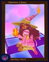 Amoretta the Birthday Witch by Tenjilover