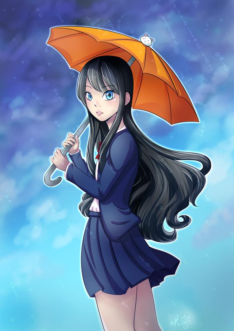 Rainy Day by GossArt1323