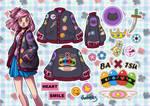 Jacket Roadmap: Amu (Shugo Chara Highschool AU)