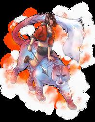 Divinity Card | Steam Tiger by GossArt1323