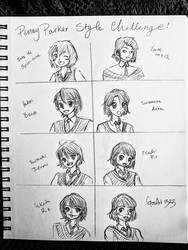 Penny Parker Style Challenge by GossArt1323