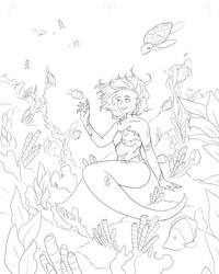 Siren Commission Lineart!