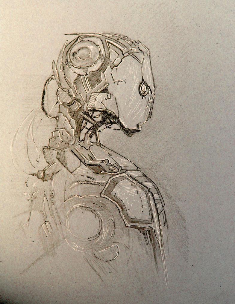 Robot Inspired by Ninjajo by ElodDesign