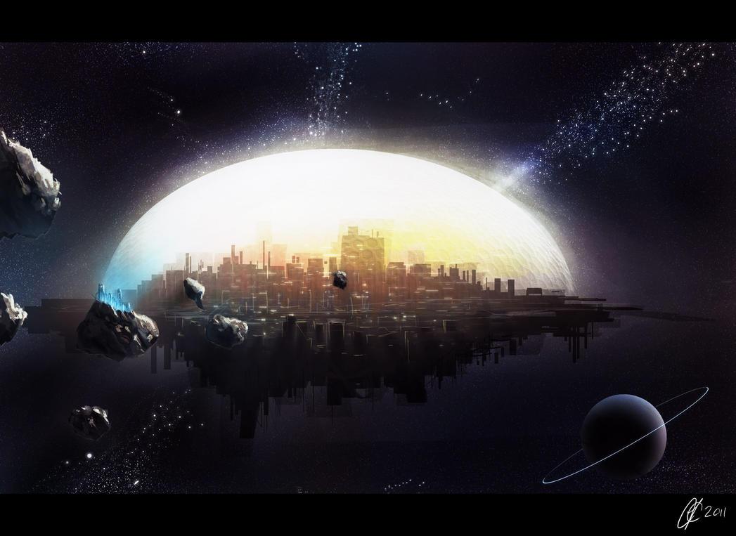 space city 01 by JamesCombridge on DeviantArt