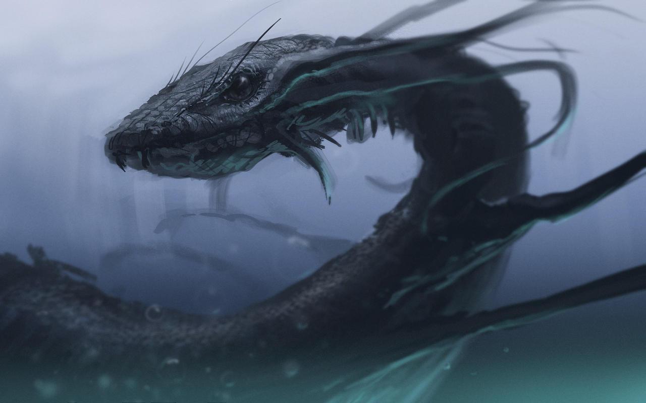 Sea Snake by JamesCombridge