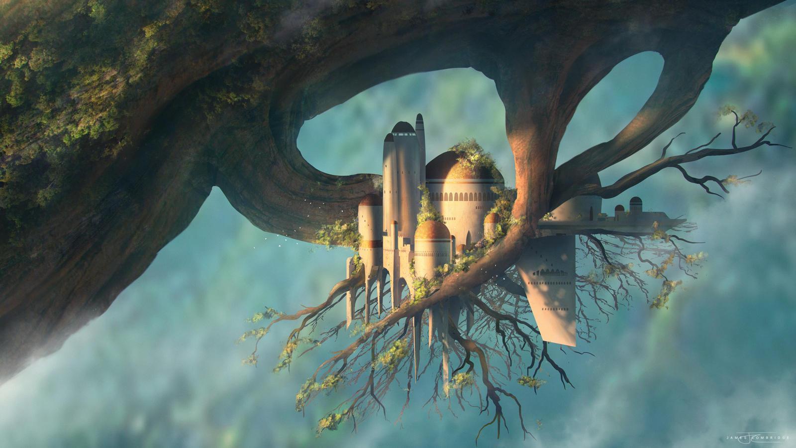 Treehouse Castle - Brainstorm by JamesCombridge