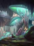 Iz'Kal Caverns