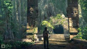Jungle shrine entrance