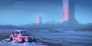 Abandonded car
