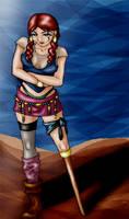 pirate girl.