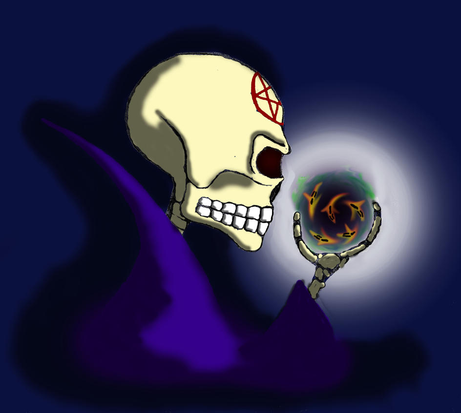 Bonemind the Mage by CyberPhantom