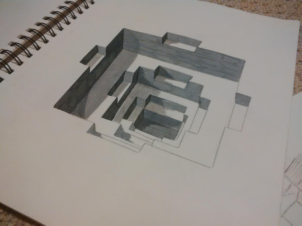 Optical illusions drawings