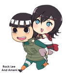 :commission: Rocklee and Ameni