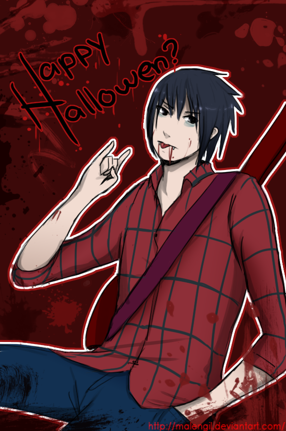 Sasuke Halloween contest entry by malengil