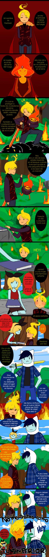 Meet FireGold (Finn x FP child) mini comic by malengil