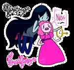 Marceline x Bubblegum