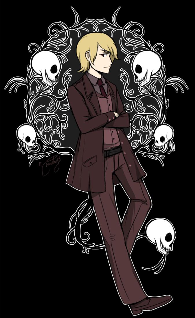 Damian Human by malengil