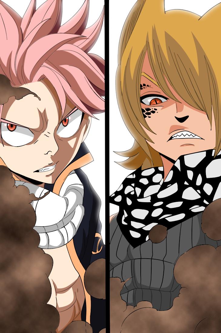 Fairy Tail 359 Natsu vs Jackal by codzocker00