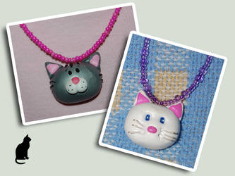 cat necklaces by trapus