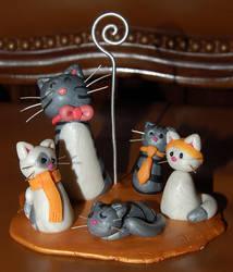 Os gatos da Rita by trapus