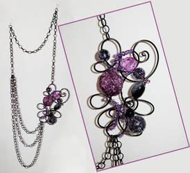 black e purple by trapus