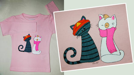 kitty Tee by trapus