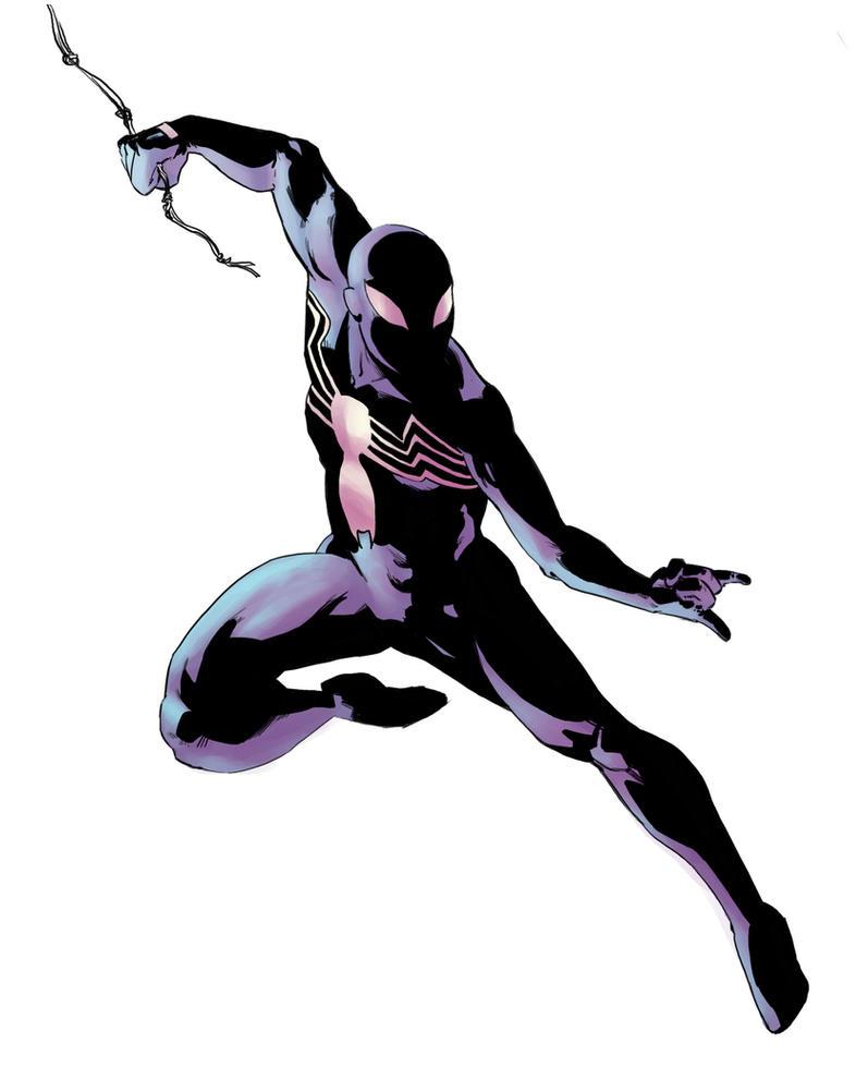 Symbiote Spiderman by tee00 on DeviantArt