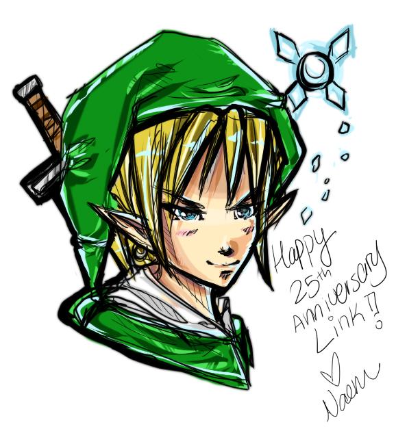 Legend of Zelda 25th Anniv by Naeru