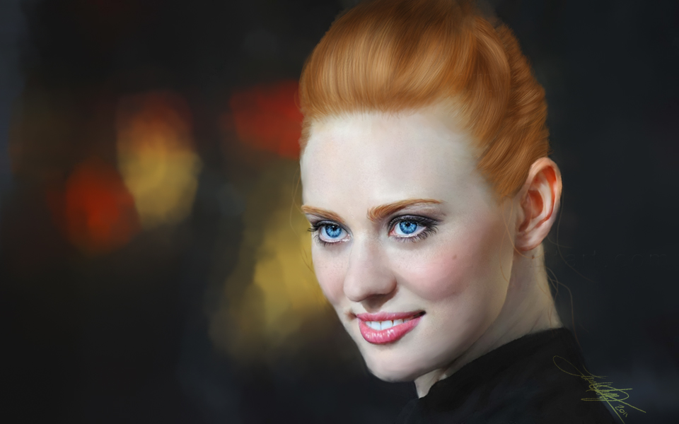 Deborah Ann Woll -painting- by LaurenW24