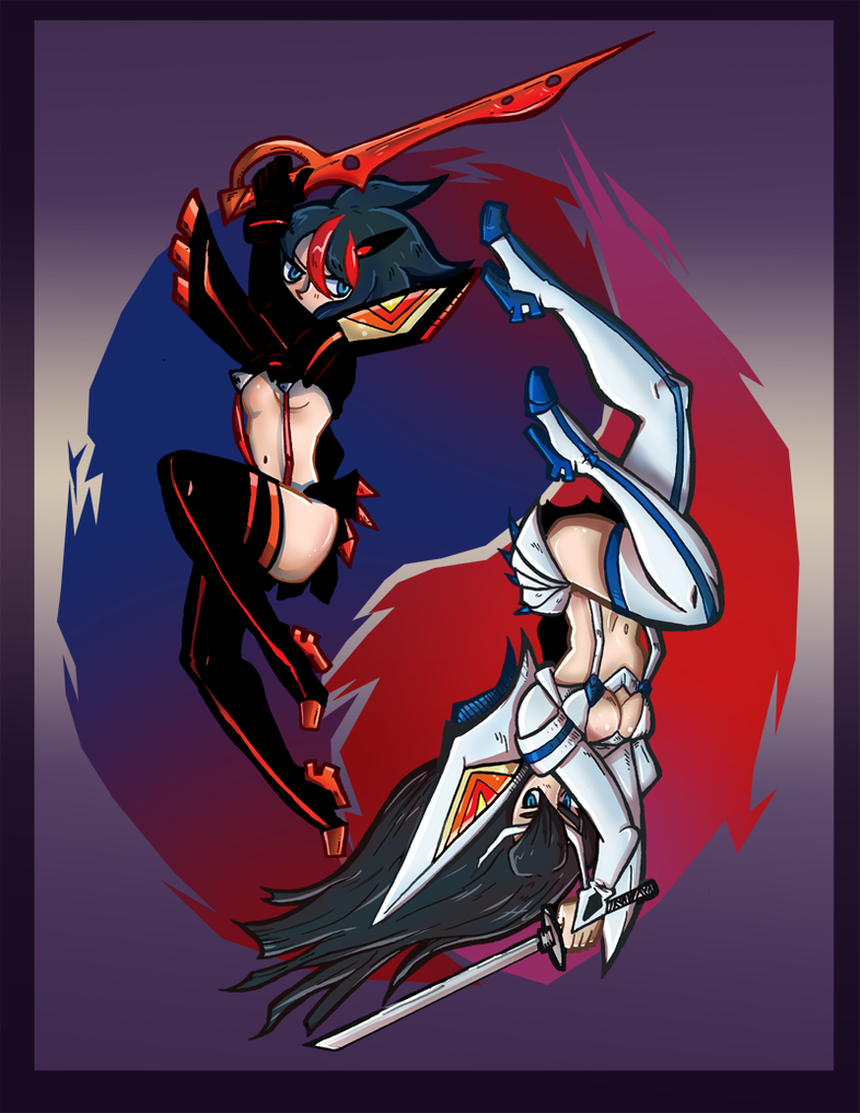 Kill La Kill by Lazereyes