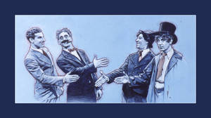 Marx Brothers by PENICKart