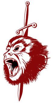 Monkey tattoo