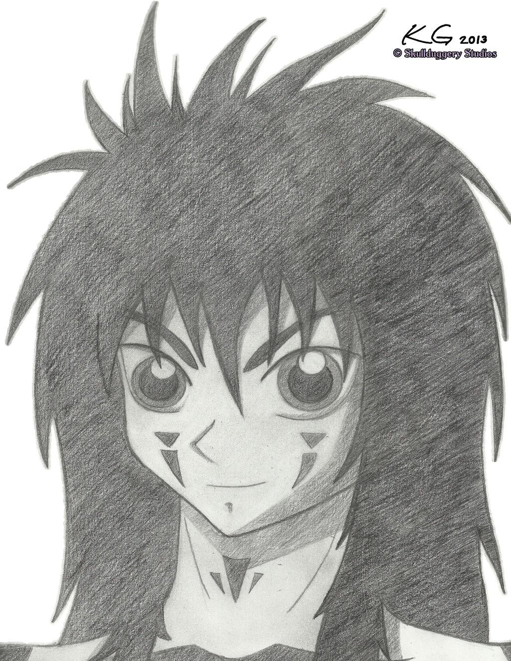 Demon yusuke by skullduggerystudios on deviantart for Yusuke demon
