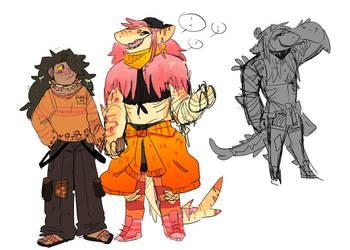 Heehoo new characters